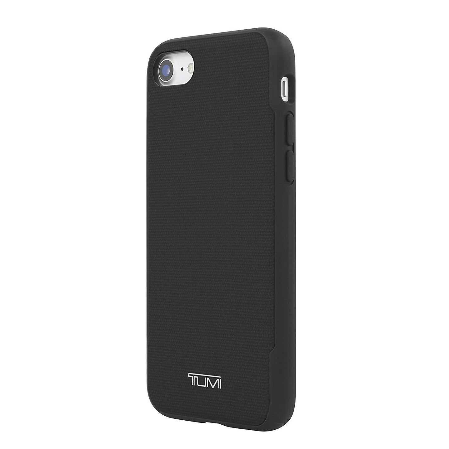 Tumi Coated Canvas Co-Molded Case for Apple iPhone 7 or 8 – Black Mobile Phone Cases