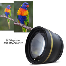 Professional HD 2X Telephoto Lens Attachment For DSLR with 58mm Filter Thread  - UntilGone.com