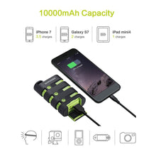 DXPower Armor 10,000mAh Rugged Outdoor Power Bank Power Adapters & Chargers