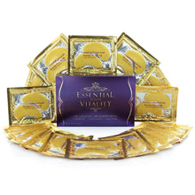 [20-Pairs] 24k Gold Eye Mask with Collagen for Puffy Eyes, Dark Circles, Bags & Wrinkles