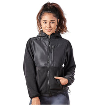 Alta Women's Two-Tone Full-Zip Fleece Jacket – Multiple Colors Coats & Jackets Black - XXL
