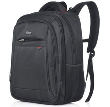 Taikes Expandable Water-Resistant Backpack with Laptop Pocket Backpacks Black
