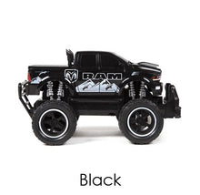 Dodge Ram 2500 1:24 scale Electric RC Monster Truck - 3 Colors Remote Control Toys Black