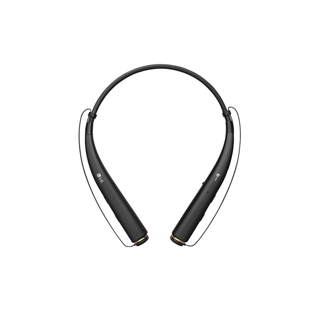 LG Tone Pro HBS-780 Bluetooth Headphones with Quad-Layer Speaker Technology Black - UntilGone.com