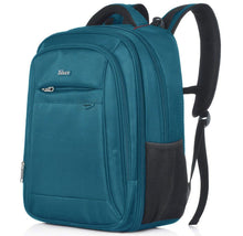 Taikes Expandable Water-Resistant Backpack with Laptop Pocket Backpacks Blue