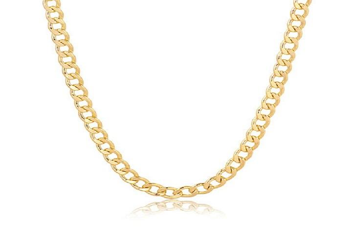 14K Gold Plated Layer Cuban Link Chain