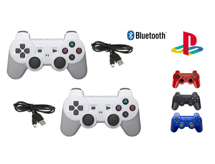 [2-Pack] Wireless Bluetooth Controllers for Sony PlayStation 3  - UntilGone.com