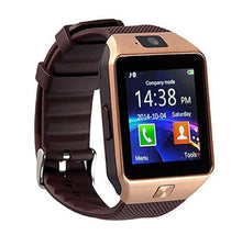 Bluetooth Smart Watch with Camera, Activity Monitor & iPhone/Android Sync Watches Gold