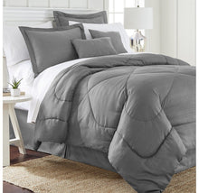 Hotel Collection Chevron Embossed 6-Piece Comforter Set
