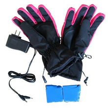 iPM Pink & Black Women's Battery Heated Gloves  - UntilGone.com