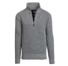 Alta Men's Casual Fleece Lined Half-Zip Sweater Jacket Coats & Jackets Light Gray - XXL