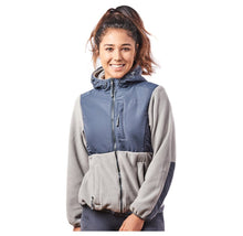 Alta Women's Two-Tone Full-Zip Fleece Jacket – Multiple Colors Coats & Jackets Light Grey/Steel - XXL