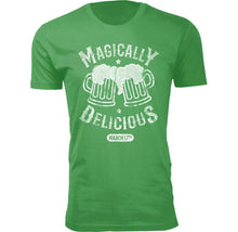 Men's Funny St. Patrick's Day T-Shirts Shirts & Tops Magically Delicious - Small