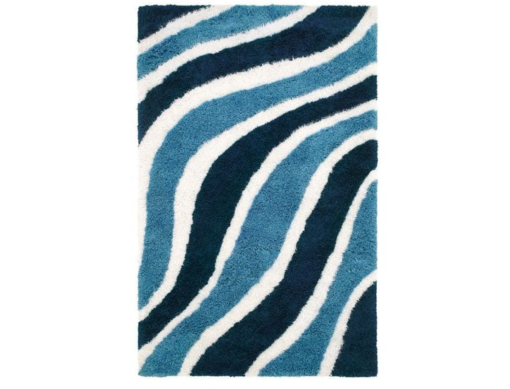Waverling Modern Shag Hand Tufted Area Rugs