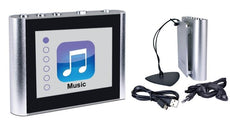 "Eclipse 4GB Clip Style Digital MP3 Audio & Video Player with 1.8"" Screen"