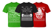 Men's Ugly Christmas Sweater Cotton T-Shirt  - UntilGone.com