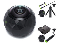 360Fly 360° HD Video Camera with Optional Accessory Bundles