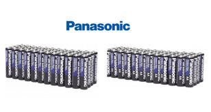 [100-Pack] Panasonic Heavy-Duty AA or AAA Batteries Batteries