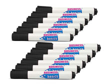 [12-Pack] Business Basics Dry Erase Board Markers - Black, Blue, or Red Markers & Highlighters