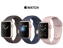 Apple Watch Gen 2 Series 1 Smartwatch – Choose 38mm or 42mm Styles 38mm Rose Gold Case Pink Sand Sport Band - UntilGone.com