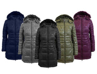 Women's Silhouette Style Puffer Jacket - 5 Colors