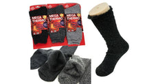 Men's Mega Thermo Insulated Socks with Superior Brushed Thermal Yarn