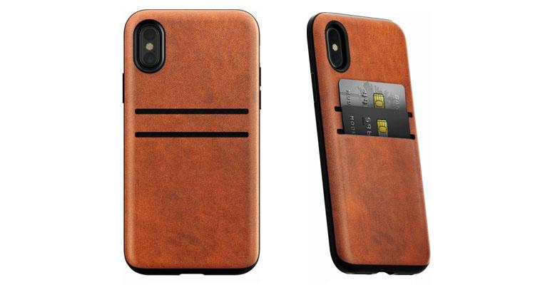 Nomad Leather Card Wallet Case for Apple iPhone X and XS  - UntilGone.com