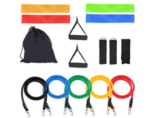 15-in-1 Latex Resistance Bands Fitness & Strength Training Set