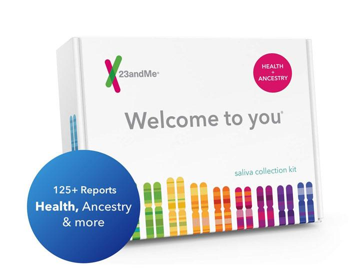 23andMe DNA Test Health + Ancestry Personal Genetic Service
