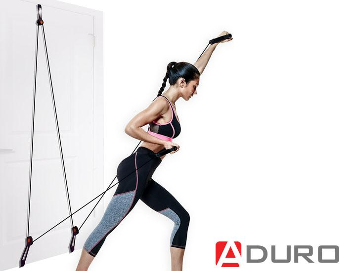 Aduro Sport Resistance Door Home Gym Exercise Machine & Equipment Sets