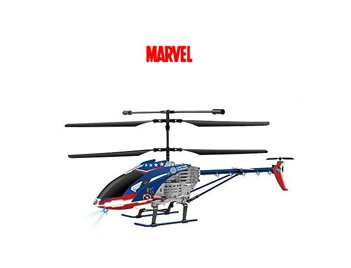 Marvel Avengers RC Helicopter - Iron Man, Hulk, or Captain America Remote Control Helicopters