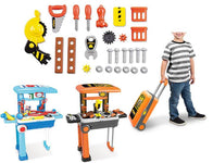 Lil' Luggage Playset - Builder, Chef, Vanity, or Doctor