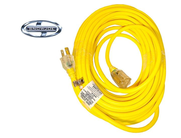 Snow Joe 50-Foot Low Temp Extension Cord with Lighted End - 14 Gauge Extension Cords