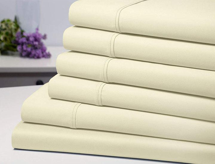 Bamboo Blend 1800 Series 6-piece Sheet Set with Deep Pockets Bed Sheets