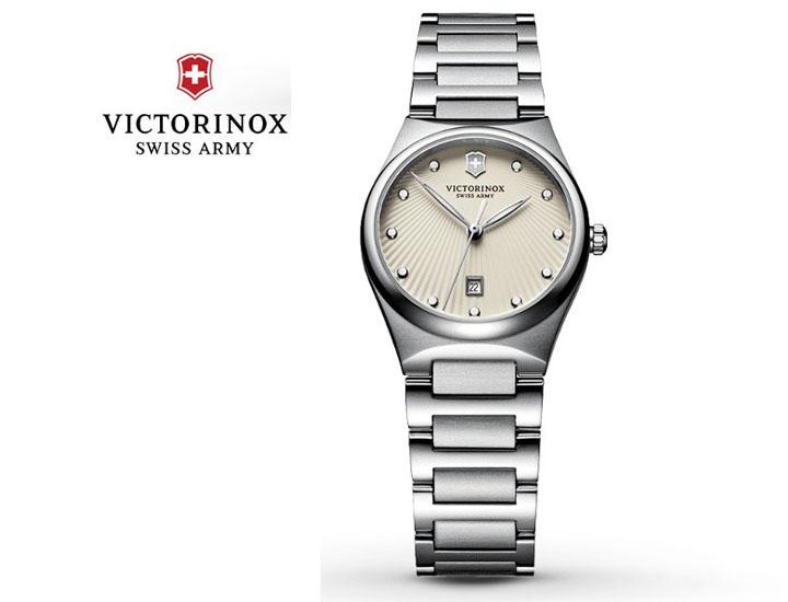 Victorinox Swiss Army Victoria Ladies Quartz Stainless Steel Watch  - UntilGone.com