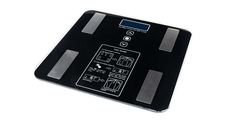 Digital Bathroom Scale with Body Fat & BMI Tracking and Backlit LCD Display  - UntilGone.com
