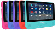 "Envizen 9"" Quad-Core Android Tablet with Built-In Portable DVD Player"