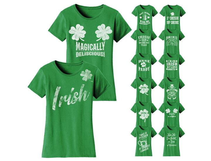 ca4adef766 Daily Deal Shirts & Tops Women's Funny St. Patrick's Day T-Shirts ...