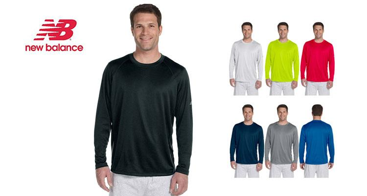 New Balance Men's Long Sleeve Performance T-Shirt  - UntilGone.com