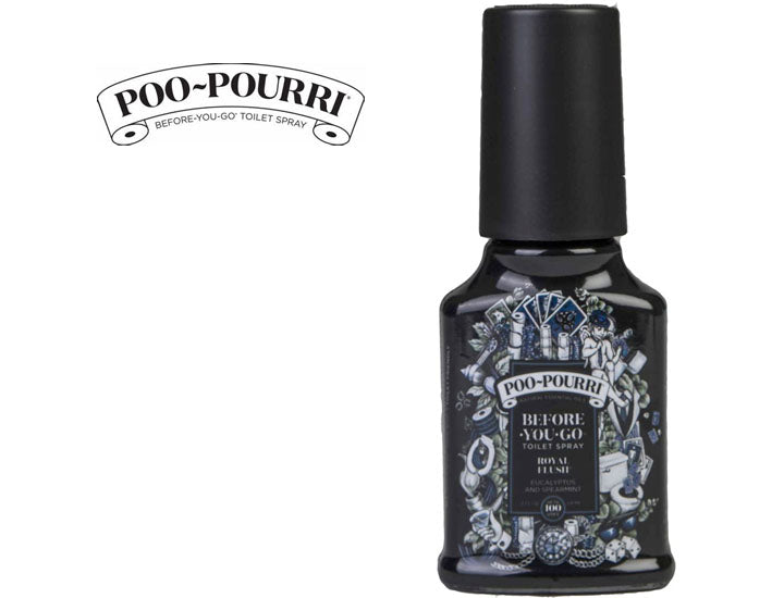 Poo-Pourri 2 oz. Royal Flush Before You Go Spray (3-Pack)