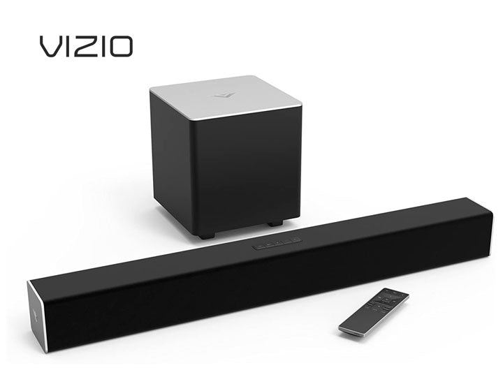 "VIZIO 28"" 2.1 Sound Bar with Wireless Subwoofer + Bluetooth"