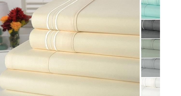 Bamboo Comfort 3-Line Bamboo Blend 4-piece Sheet Set