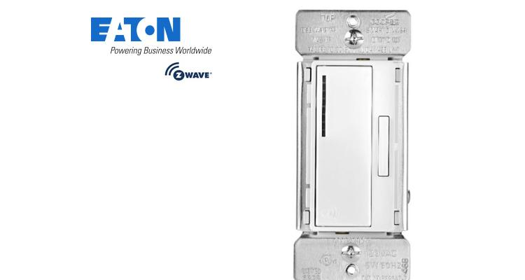 Eaton Cooper F9540-N Z-Wave Single-Pole Dimmer Switch - White Electrical Switches