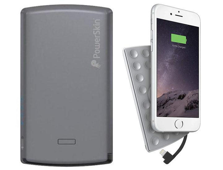 PowerSkin 4,000mAh Power Pack with Built-In Lightning Cable