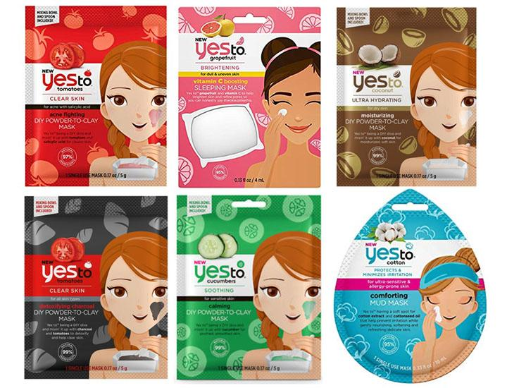 Yes To Face Mask Set (6-Piece)  - UntilGone.com