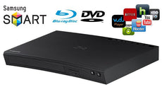 Samsung Blu-Ray + DVD Disc Player with Built-In Wi-Fi for Streaming Apps