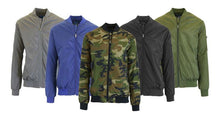 Men's Lightweight Water Resistant Flight Jacket - 5 Colors  - UntilGone.com
