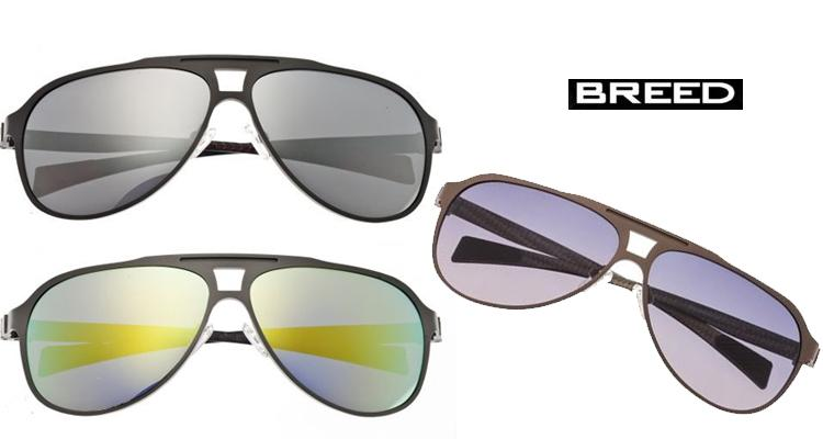 Breed Apollo Carbon Fiber Arm Sunglasses