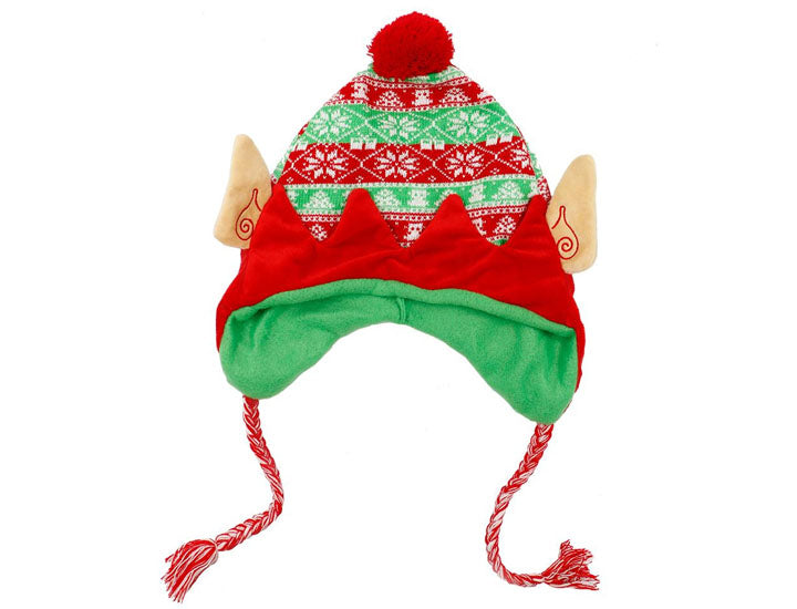 Luxury Knit Holiday Elf Hat