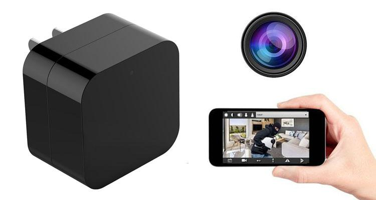 iPM Hidden Camera USB Wall Charger with Night Vision & Wi-Fi  - UntilGone.com